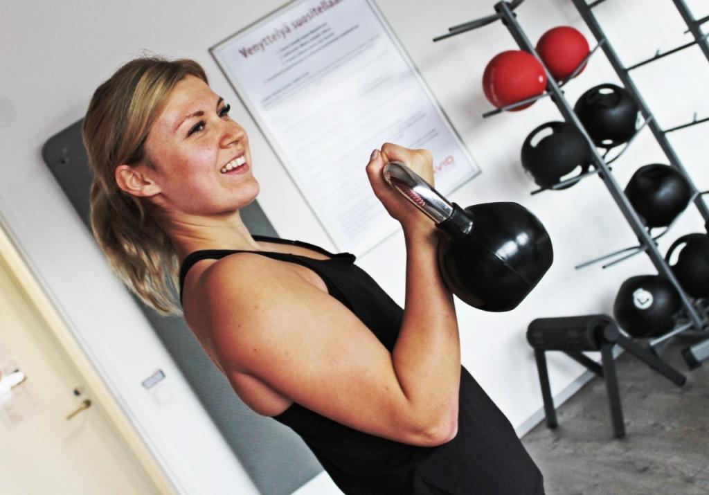Personal trainer Kata Pulkka, pääkaupunkiseutu